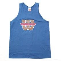 24.4ms Wilson Camiseta de Tirantes Mediana para Hombres Logotipo Esfumado - $22.62