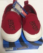 USC University of South Carolina Gamecocks Infant Sz 3 Non-Slip Soft Shoes  image 3
