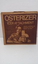 Vintage 1975 Osterizer Blender Icer Attachment Original Box and Instruct... - $14.92