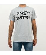 T-SHIRT MAN THRASHER SKATE & DESTROY T-SHIRT 110103GY - $31.94