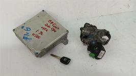 04-05 Honda Civic 1.7 5sp MT ECU PCM Engine Computer & Immobilizer 37820-PLR-A12 image 5