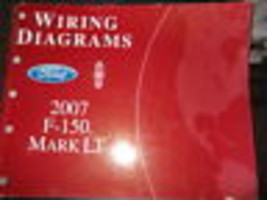 2007 Ford F-150 F150  MARK LT Truck Electrical Wiring Diagrams Shop Manu... - $98.99