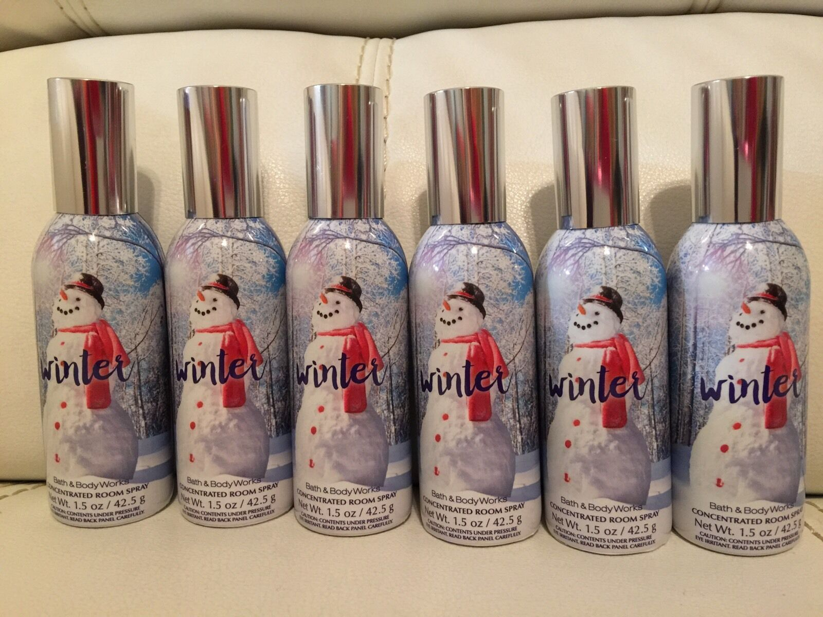 Primary image for 6 Bath and Body Works Winter Home Room Spray
