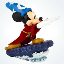 Disney Sorcerer Mickey Mouse Light-Up Figurine Medium Statue New With Box - $132.16