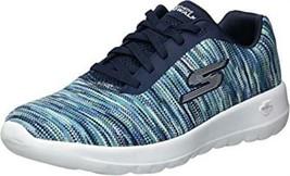 Skechers Women's Go Walk Joy-Invite Sneaker 6M Navy NEW - $38.59