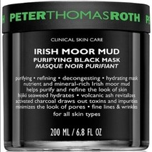 NEW Peter Thomas Roth Irish Moor Mud Purifying Black Mask 6.8oz New Sealed - $23.33