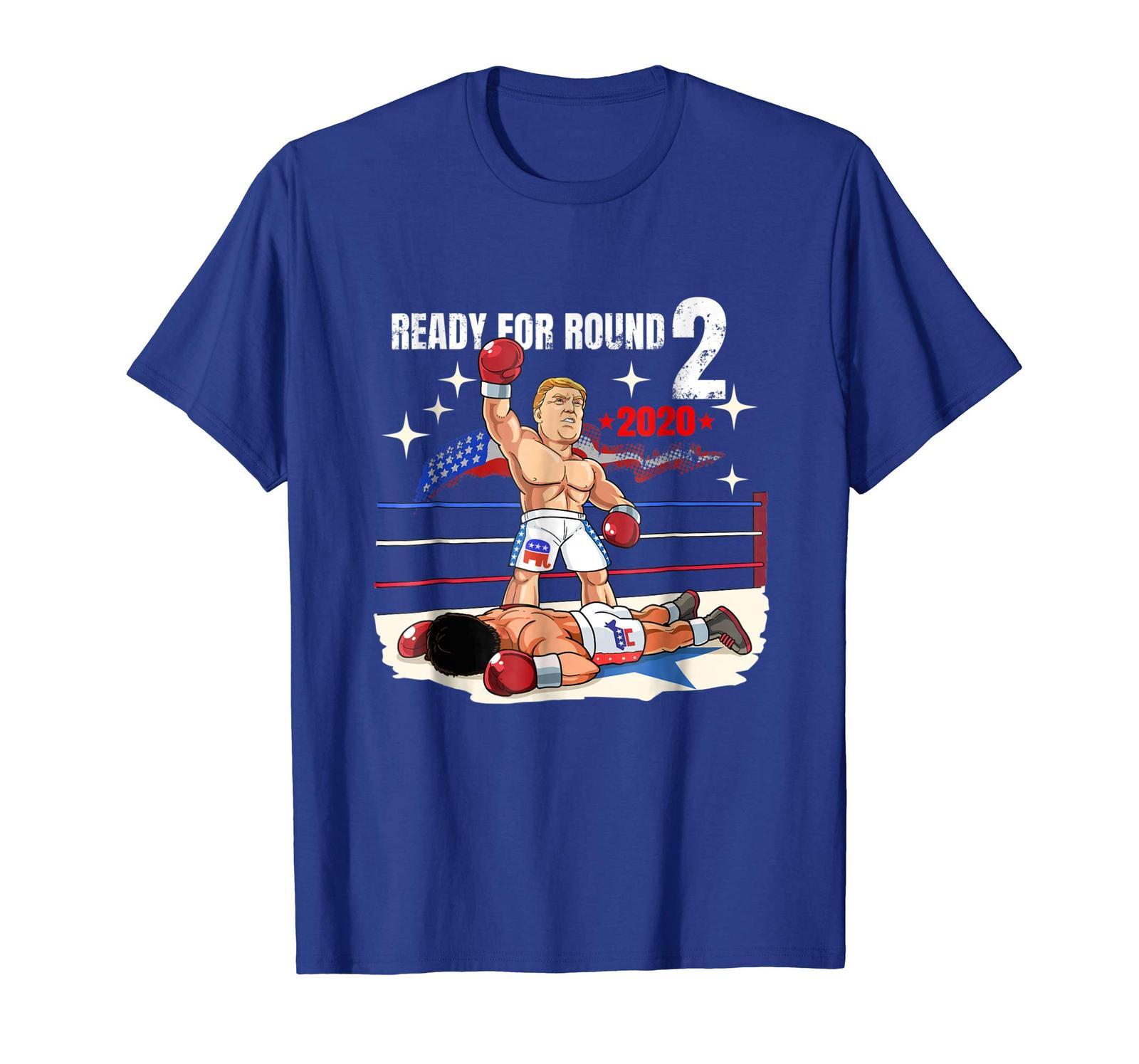 Halloween Shirts -  Funny Trump T Shirt - Trump 2020 Shirt - Boxing Apparel Men