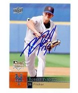 Bobby Parnell autographed baseball card (New York Mets) 2009 Upper Deck ... - $16.00