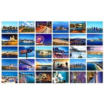 Beautiful Travel Scenery 30 PCS Artistic Retro Postcards-Sydney - $20.03