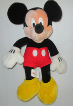 "Disney Store Mickey Mouse Classic Big Plush 18"" Kids Toy Collectible Sew... - $21.24"