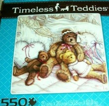 Jigsaw Puzzle 500 Pcs Teddy Bears Sleepy Nap Time Family Project None Mi... - $12.86