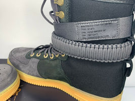 NEW SIZE 9 MEN Nike SF AF1 PRM Air Force SHERPA Fleece Sneakerboots Shoes WINTER image 5