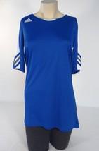 Adidas ClimaCool Blue & White Multi-Sport Short Sleeve Jersey Women Larg... - $33.40