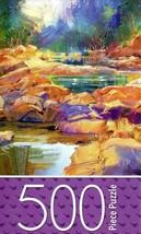Cardinal Colorful River Stones - 500 Piece Jigsaw Puzzle - $14.84