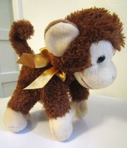 "Shining Stars Russ Berrie Plush Monkey Brown Stuffed Kid Toy 9"" Stuffed ... - $17.40"
