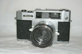 VTG Ricoh 500 Focus Assist 35mm Camera W Timer, UV Filter, Hood, As-Is - $36.65