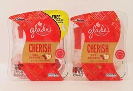 Glade Plugins Apple Cinnamon Scented Oil Cherish The Present 1 Warmer 3 ... - $18.00