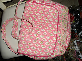 Peach/Pink baby diaper bag by Pomegranate image 2