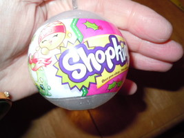 Shopkin's Ornament Clear Sparkles New - $9.99