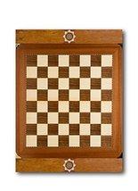 "Custom Chess Board Brushed Aluminum Metal Print (20"" x 16"") - $74.20"