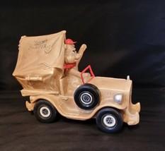 Vintage Piggy Bank Sparky's Camper - $20.29