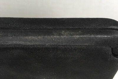 LEWIS True Vintage Slim Black Fabric Evening Bag