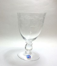 "Heisey 5040 Moonglo Water Goblet s 5 5/8"" New - $14.83"