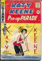 Katy Keene Pin-Up Parade #8 1959-Bill Woggon-fashions-pin-ups-paper doll... - $56.75