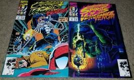 1 2 Marvel Comics Spirits Vengeance Ghostrider 5 6 NM+ Venom App Kubert ... - $1.99
