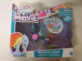 My Little Pony the Movie RAINBOW DASH Seapony Pearly & Glitter Crumpled Box - $10.00