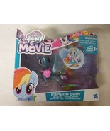 My Little Pony the Movie RAINBOW DASH Seapony Pearly & Glitter Crumpled Box - $10.00