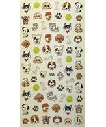 Nail Art 3D Decal Stickers Cute & Adorable Puppies, Dogs & Puppy, Dog Bone - $8.90
