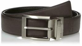 Calvin Klein Men's 35mm Reversible Genuine Leather Harness Buckle Belt 7538796 image 7
