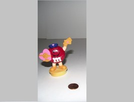 1995 M&Ms Red Valentine Mailman Figure - Candy Tube Topper  - $5.93