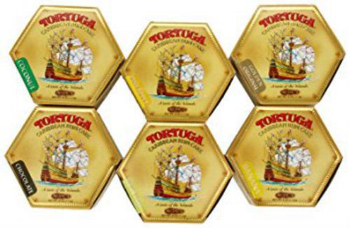 TORTUGA CARIBBEAN RUM CAKE ALL FLAVORS 4 OZ (6 PACK) - $69.00