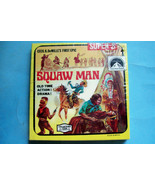 """""""Squaw Man"""" from Cecil B. DeMille   200' Super 8 Home Movie    Factory S... - $12.86"""