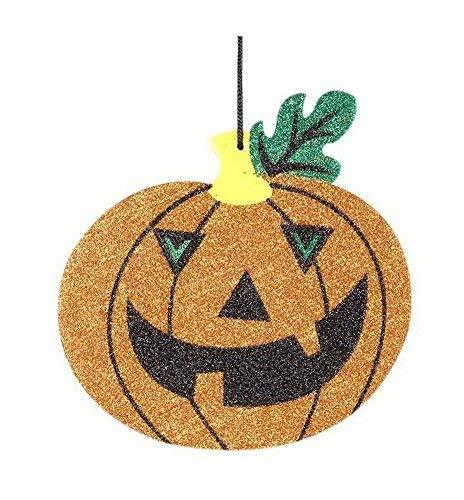 5 Pcs Halloween Ornaments Props Pendant Bar Party Decorative Single Pumpkin Tags