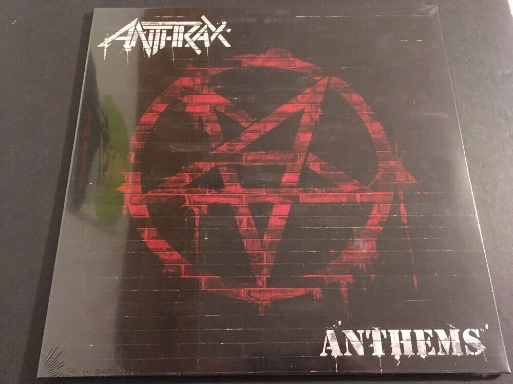 Primary image for Anthrax ‎– Anthems - Limited Purple & White Haze colored Vinyl LP /500