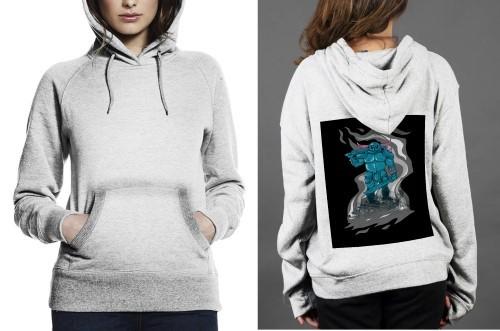 Pekka z hoodie  women white