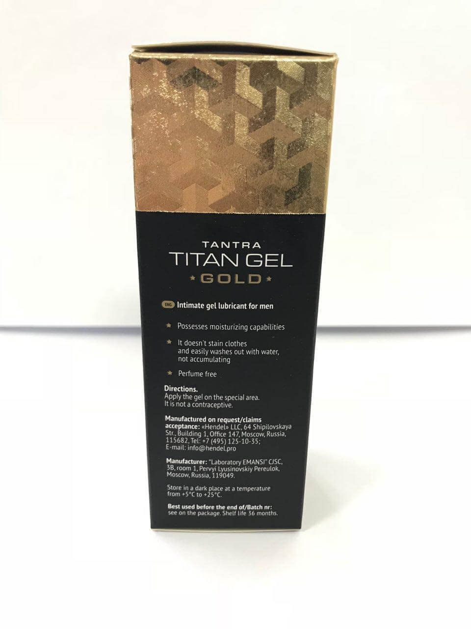 titan gel for men intimate lubricant hendel llc 50 ml ebay titan gel
