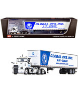 Mack Anthem Day Cab with 53\' Dry Goods Trailer Global CFS Inc. White an... - $109.64