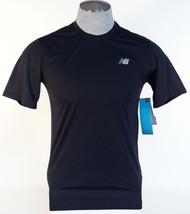 New Balance NB Dry Moisture Wicking Black Athletic Shirt Men's NWT - $26.24