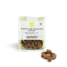 Daylesford Organic Raw Chocolate Raisin 28g - $6.30