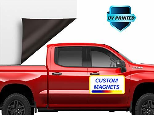 Custom Car Magnets Full Colors Customize with Your Business Logo or Any Text, Ad