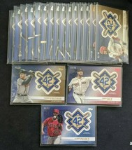 2018 Topps Update Jackie Robinson Day Manufactured Patch *Pick from List* - $2.00+