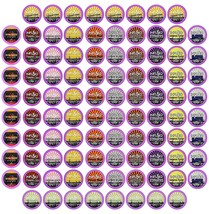 96 Count Flavored coffee Variety Pack (12 Flavored Blends), Single-serve Cups fo - $33.85