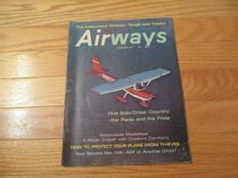 Airways Aviation Flying Airplanes Planes Aircraft Magazine Feb 1971 - $12.99