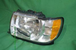 01-03 Infiniti QX4 HID Xenon Headlight Head Light Lamp Driver Side LH - POLISHED image 5
