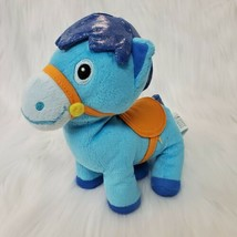 "9"" Disney Jr Sheriff Callie Sparky Blue Pony Horse Plush Stuffed Toy B350 - $14.97"