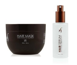 Herstyler Argan Oil Hair Serum and Mask Hair Care Set W/ Aloe Vera and V... - $30.06
